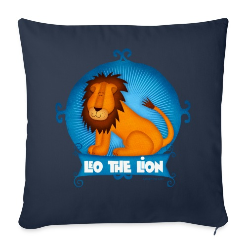 Leo The Lion  - Throw Pillow Cover
