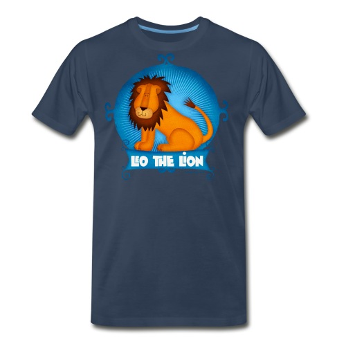 Leo The Lion  - Men's Premium T-Shirt