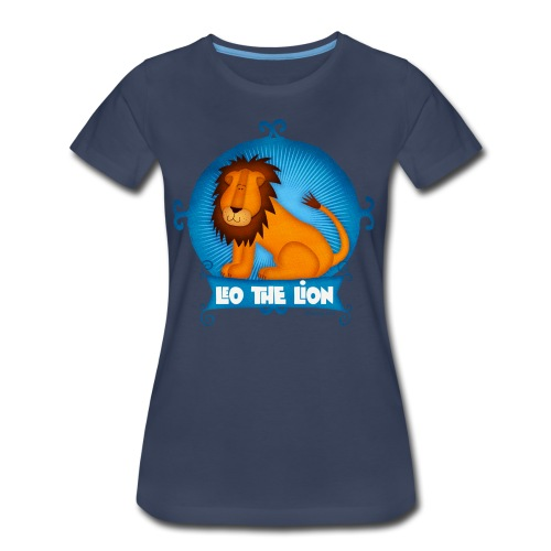 Leo The Lion  - Women's Premium T-Shirt
