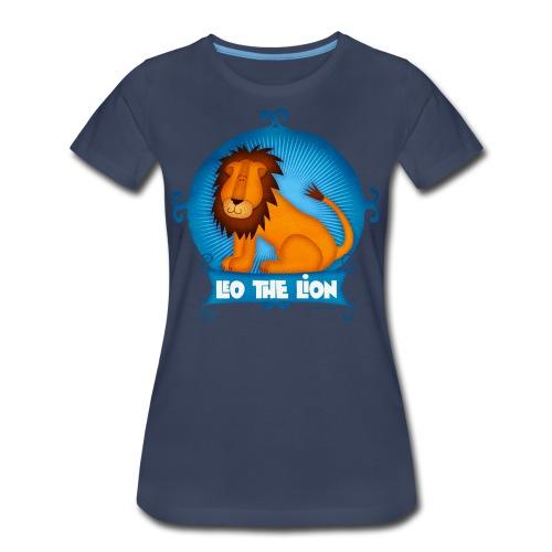 Leo The Lion  - Women's Premium T-Shirt