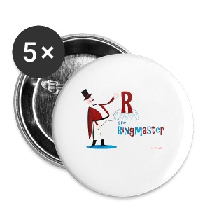 R is for Ringmaster - Small Buttons