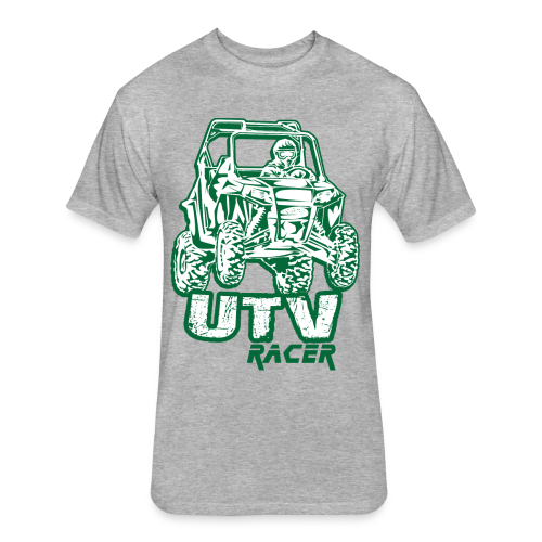 UTV Racing Shirt - Fitted Cotton/Poly T-Shirt by Next Level