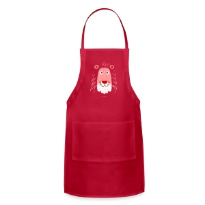 Lion Face T-Shirt - Adjustable Apron