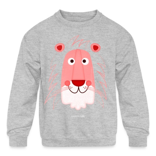Lion Face T-Shirt - Kid's Crewneck Sweatshirt