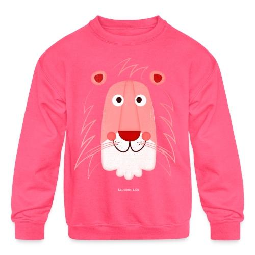 Lion Face T-Shirt - Kids' Crewneck Sweatshirt