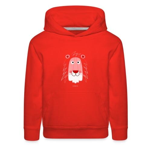 Lion Face T-Shirt - Kids' Premium Hoodie