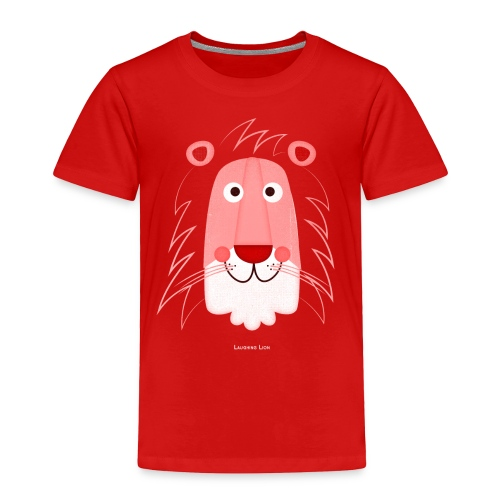 Lion Face T-Shirt - Toddler Premium T-Shirt
