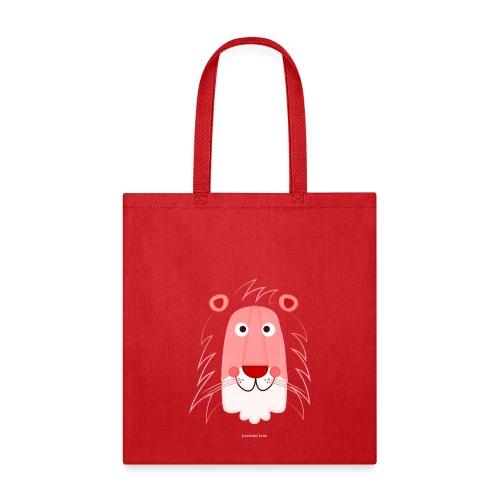 Lion Face T-Shirt - Tote Bag