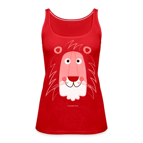 Lion Face T-Shirt - Women's Premium Tank Top