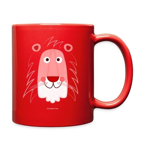 Lion Face T-Shirt - Full Color Mug