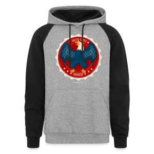 U.S.A. Eagle Men's T - Colorblock Hoodie