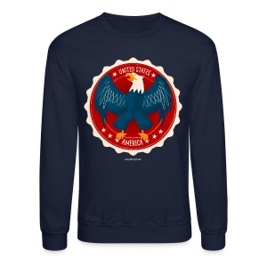 U.S.A. Eagle Men's T - Crewneck Sweatshirt