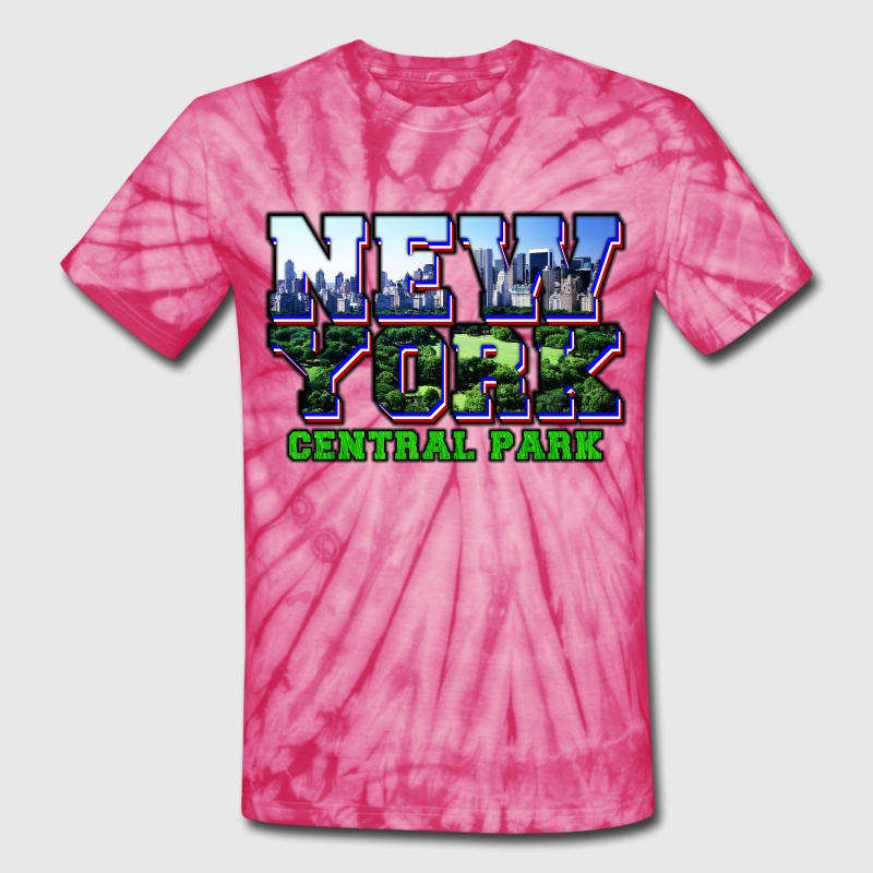 new york central park T-Shirts - Unisex Tie Dye T-Shirt