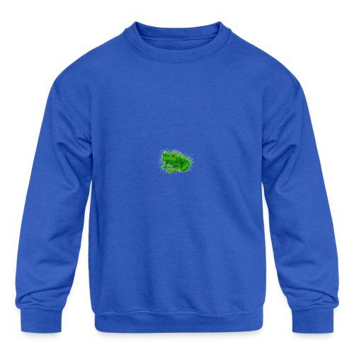 Grass Frog - Kids' Crewneck Sweatshirt
