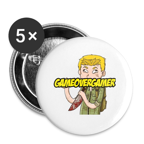 Classic GOG Women's Tee - Large Buttons