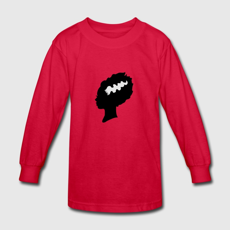 Bride of Frankenstein Kids' Shirts - Kids' Long Sleeve T-Shirt