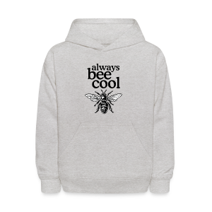 Always Bee Cool Beekeeper T-Shirt (Women Gray) - Kids' Hoodie