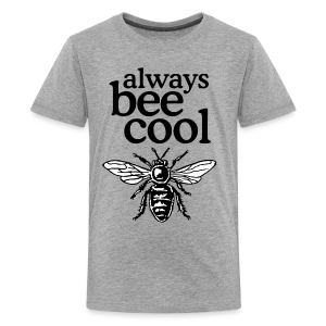 Always Bee Cool Beekeeper T-Shirt (Women Gray) - Kids' Premium T-Shirt