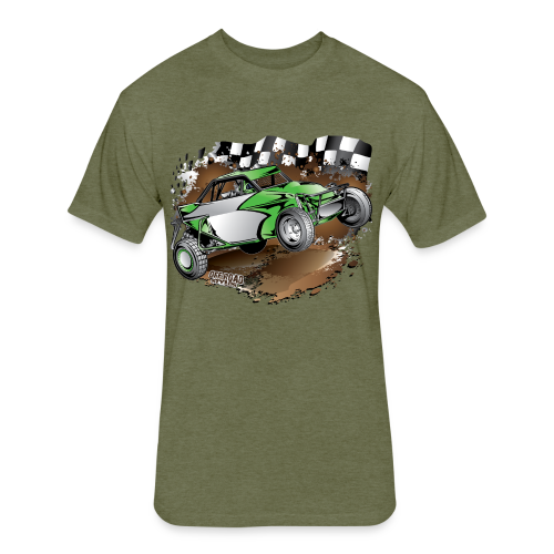 Green Limited Buggy Shirt - Fitted Cotton/Poly T-Shirt by Next Level