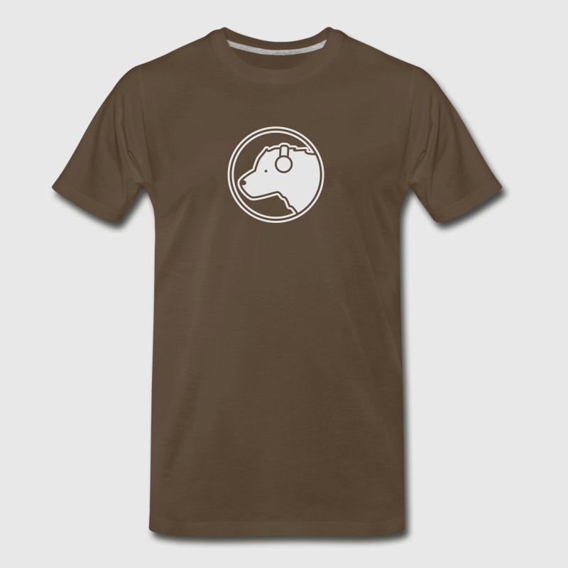 Polar Bear DJ T-Shirts - Men's Premium T-Shirt
