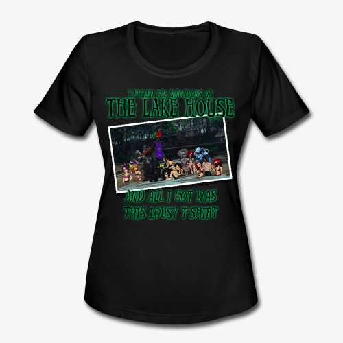 The Lake House T-Shirt - Women's Moisture Wicking Performance T-Shirt