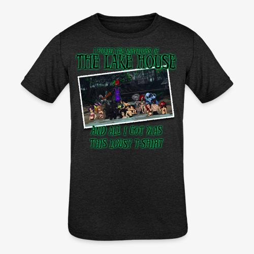 The Lake House T-Shirt - Kids' Tri-Blend T-Shirt