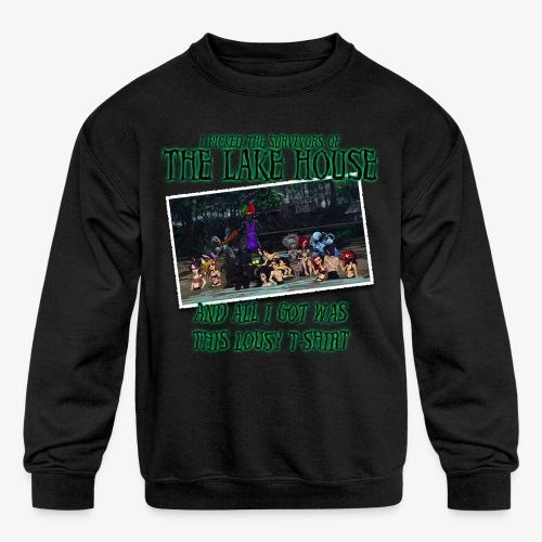 The Lake House T-Shirt - Kid's Crewneck Sweatshirt