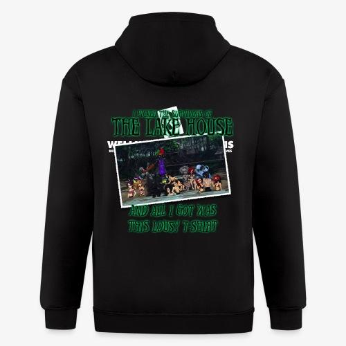 The Lake House T-Shirt - Men's Zip Hoodie