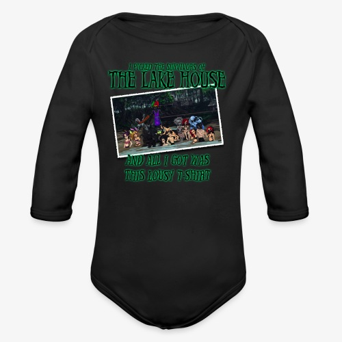 The Lake House T-Shirt - Organic Long Sleeve Baby Bodysuit