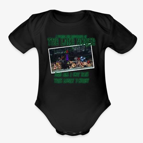 The Lake House T-Shirt - Organic Short Sleeve Baby Bodysuit