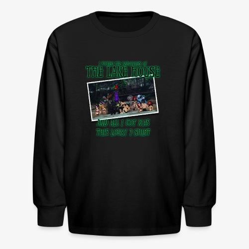 The Lake House T-Shirt - Kids' Long Sleeve T-Shirt