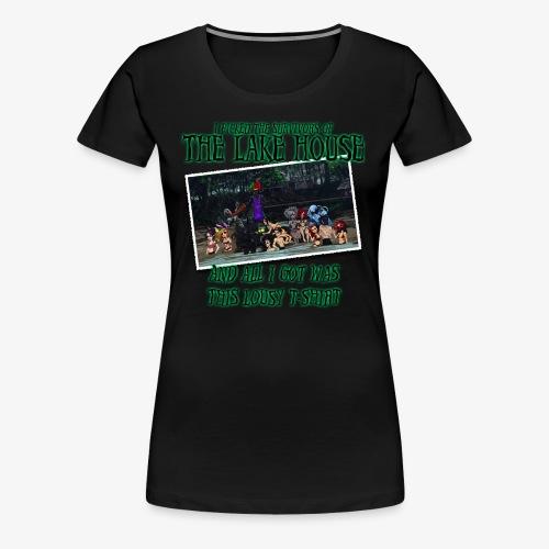 The Lake House T-Shirt - Women's Premium T-Shirt