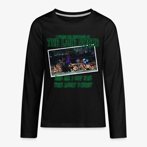 The Lake House T-Shirt - Kids' Premium Long Sleeve T-Shirt