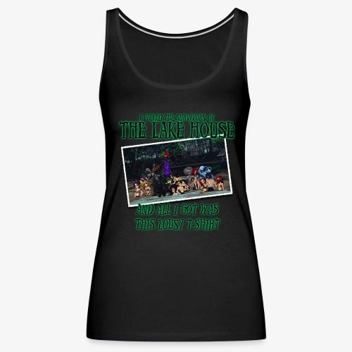 The Lake House T-Shirt - Women's Premium Tank Top