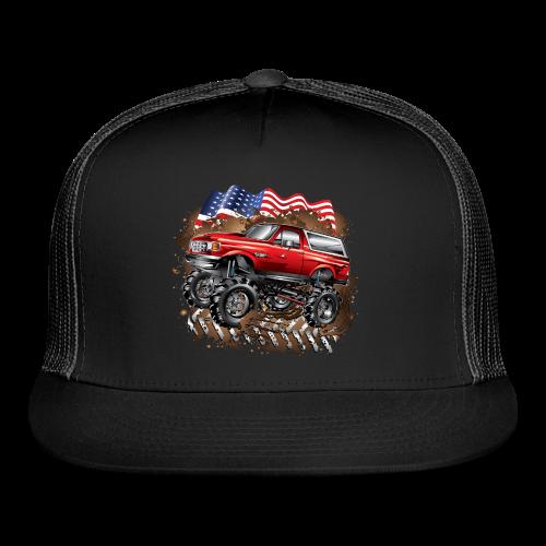 Mud Truck Ford Bronco Shirt - Trucker Cap