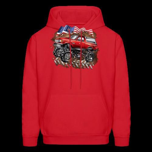 Mud Truck Ford Bronco Shirt - Men's Hoodie