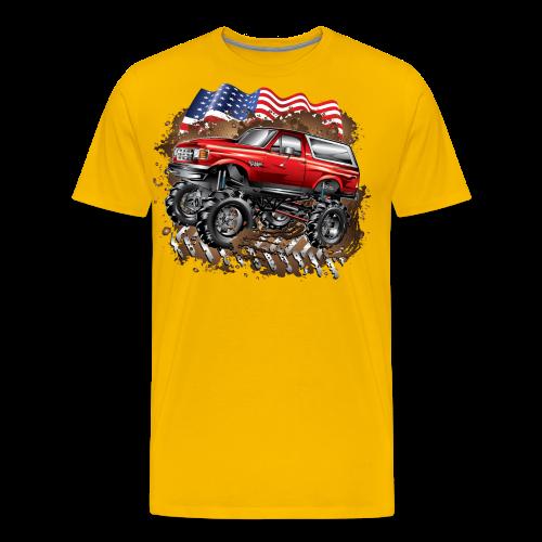 Mud Truck Ford Bronco Shirt - Men's Premium T-Shirt