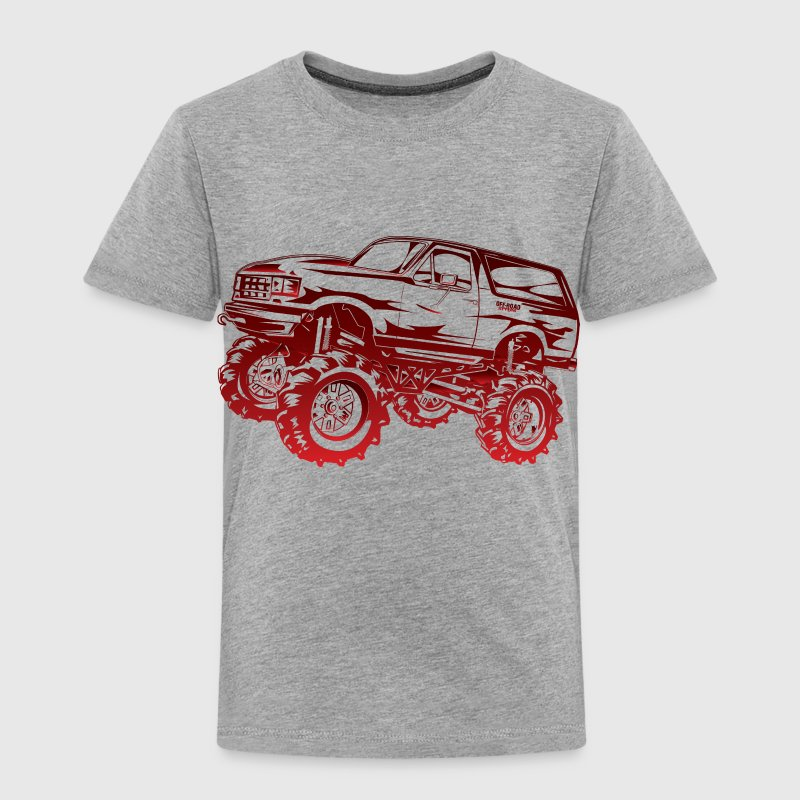 Mega Mud Ford Bronco Red Baby & Toddler Shirts - Toddler Premium T-Shirt