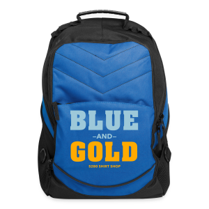 Blue And Gold - Mens T-Shirt - Computer Backpack
