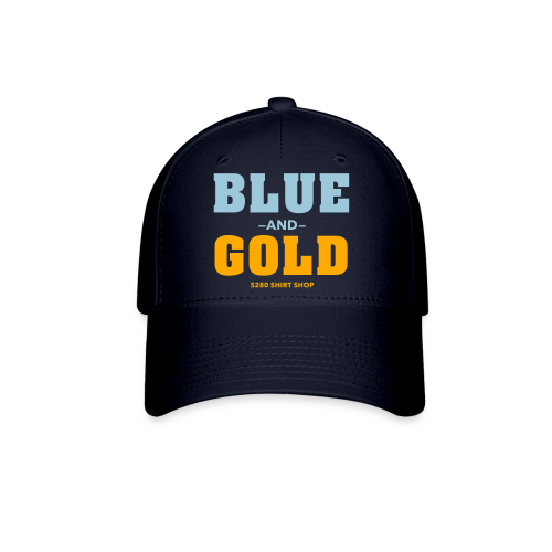 Blue And Gold - Mens T-Shirt - Baseball Cap