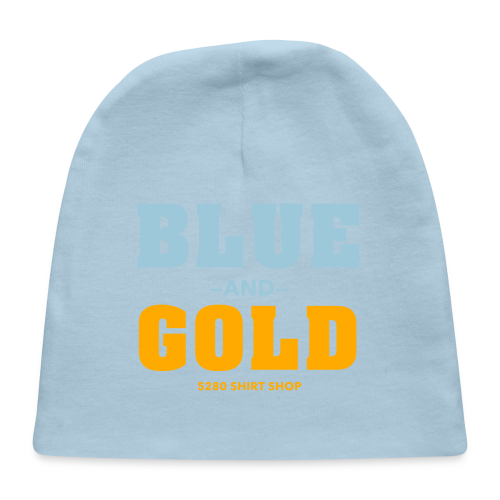 Blue And Gold - Mens T-Shirt - Baby Cap