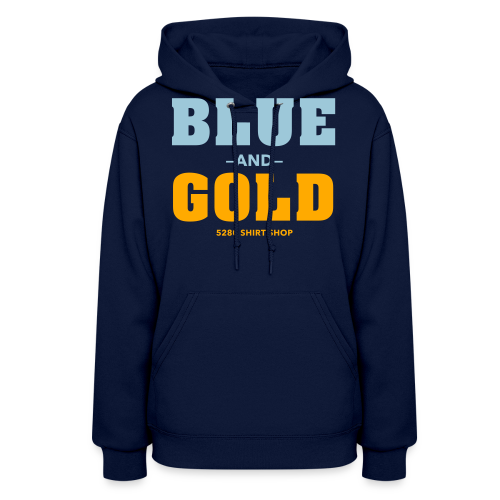 Blue And Gold - Mens T-Shirt - Women's Hoodie