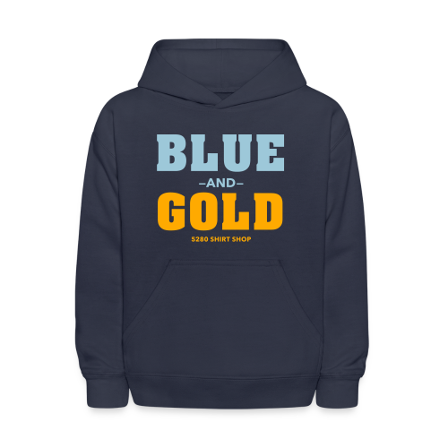 Blue And Gold - Mens T-Shirt - Kids' Hoodie