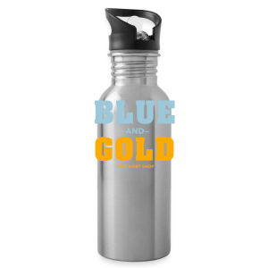 Blue And Gold - Mens T-Shirt - Water Bottle