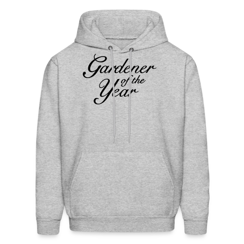 Gardener of the Year T-Shirt (Women Gray/Black) - Men's Hoodie