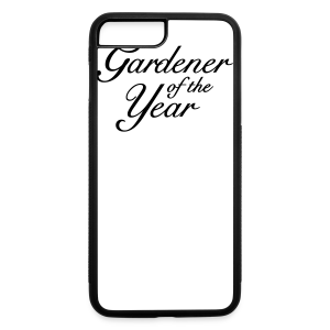 Gardener of the Year T-Shirt (Women Gray/Black) - iPhone 7 Plus/8 Plus Rubber Case