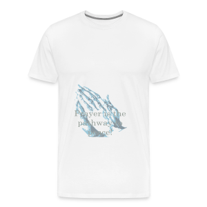 Prayer is the pathway to peace - Men's Premium T-Shirt