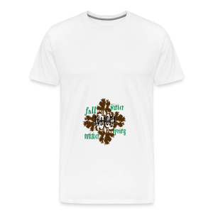 Seasons - Men's Premium T-Shirt