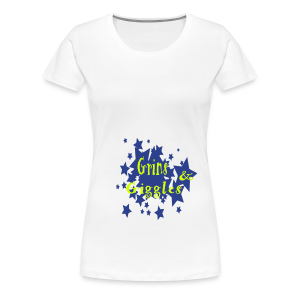 Grins and giggles - Women's Premium T-Shirt