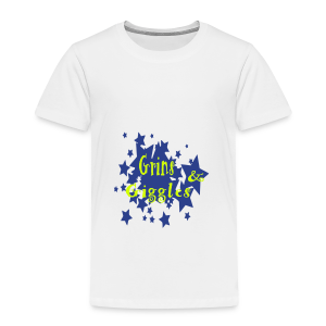Grins and giggles - Toddler Premium T-Shirt